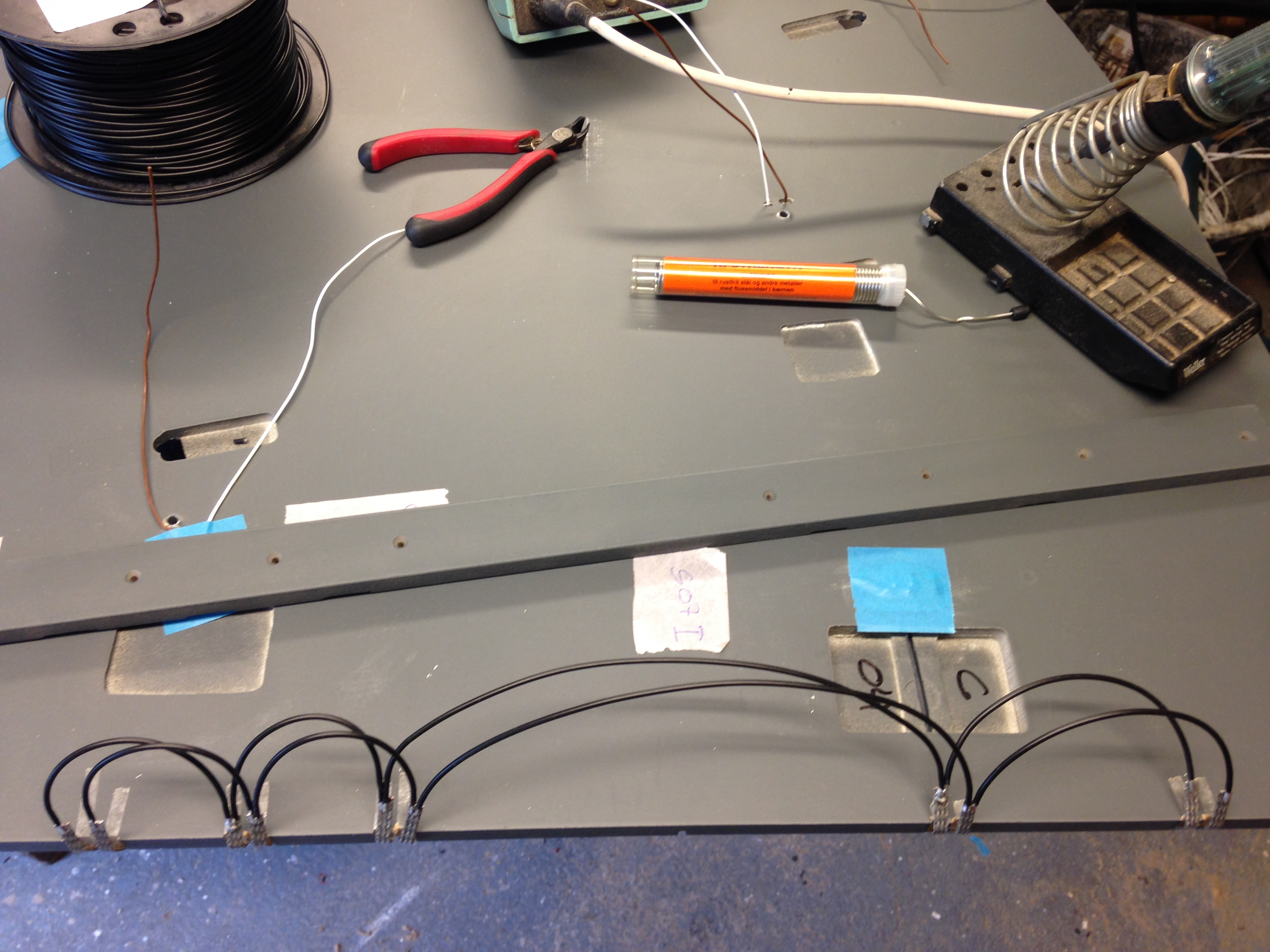 Braid Gt 40 Raceway Slot Car Track Wiring Painted And Ready To Assemble